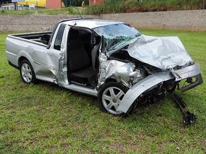 Veículo circulou por aproximadamente 1,5 km na contramão (Foto: Wellington Roberto/G1)