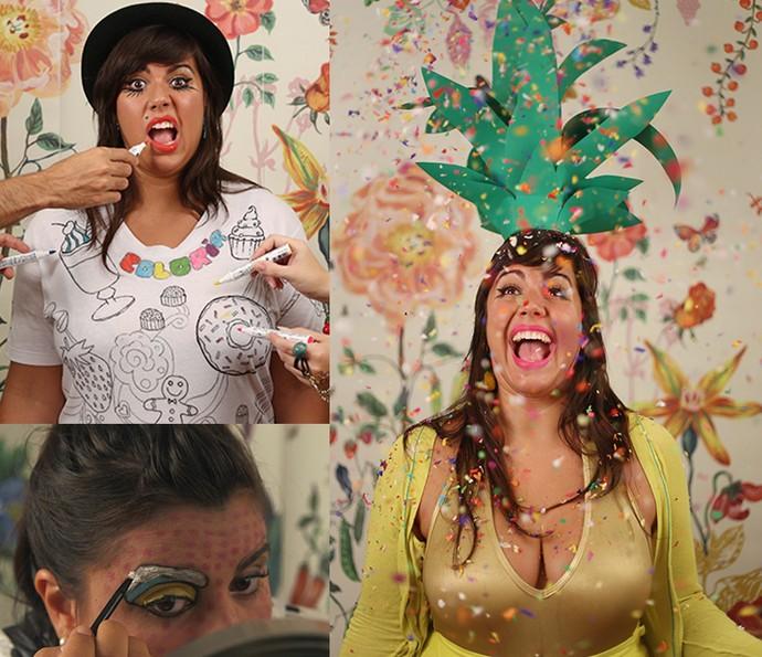 Raiza Costa, de Dulce Delight, já tem fantasia certa para os blocos de carnaval (Foto: Divulgação)