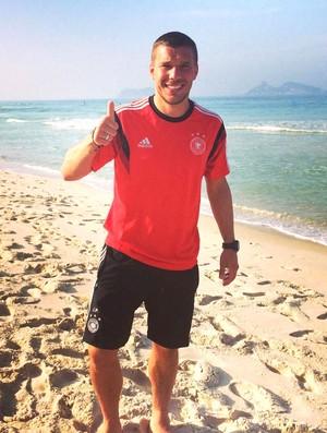 Podolski Alemanha (Foto: Reprodução / Twitter)