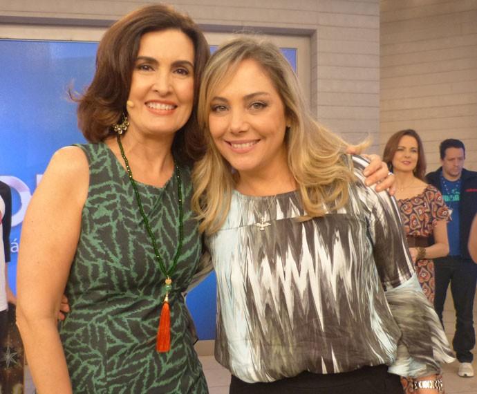 Fátima e Heloisa Périssé (Foto: Viviane Figueiredo Neto/ Gshow)