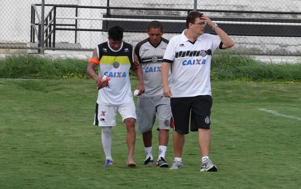 Tiago Baiano, lateral do ASA (Foto: Leonardo Freire/GloboEsporte.com)