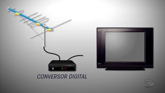 Procura por conversores digitais e antenas UHF aumenta no RS