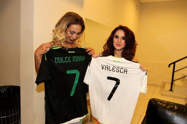 Dulce Maria e Valesca (Foto: Manuela Scarpa / PhotorioNews)