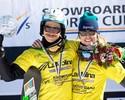 Maltais volta a vencer, e Isabel termina Copa do Mundo de snowboard em 14º