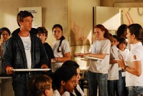 """(Foto: Kayky Brito em """"Sete pecados"""", de 2007, em que interpretou o estudante Xongas/ Foto: João Miguel Junior/ TV Globo)"""