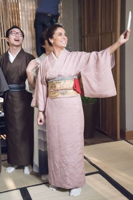 Giovanna é fã dos quimonos tanto para ficar em casa, quanto para ir em festas e eventos (Foto: Divulgação)