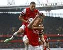 Virada espetacular coloca o Arsenal  na rota da Liga dos Campeões