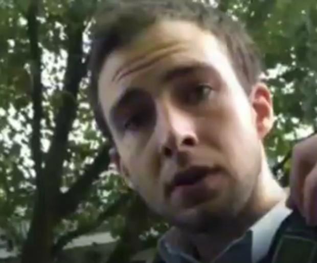 Vídeo viraliza ao mostrar 'ataque de fúria' de policial no Reino Unido (Foto: BBC)