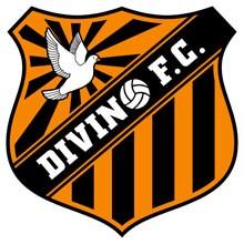 Escudo do Divino Futebol Clube (Foto: Avenida Brasil / TV Globo)