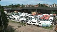 'Cemitério' de carros vira criadouro do Aedes em São Luís