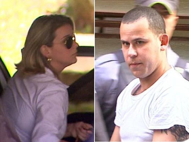 Natália Ponte e Guilherme Longo são acusados da morte do menino Joaquim (Foto: Reprodução/EPTV)