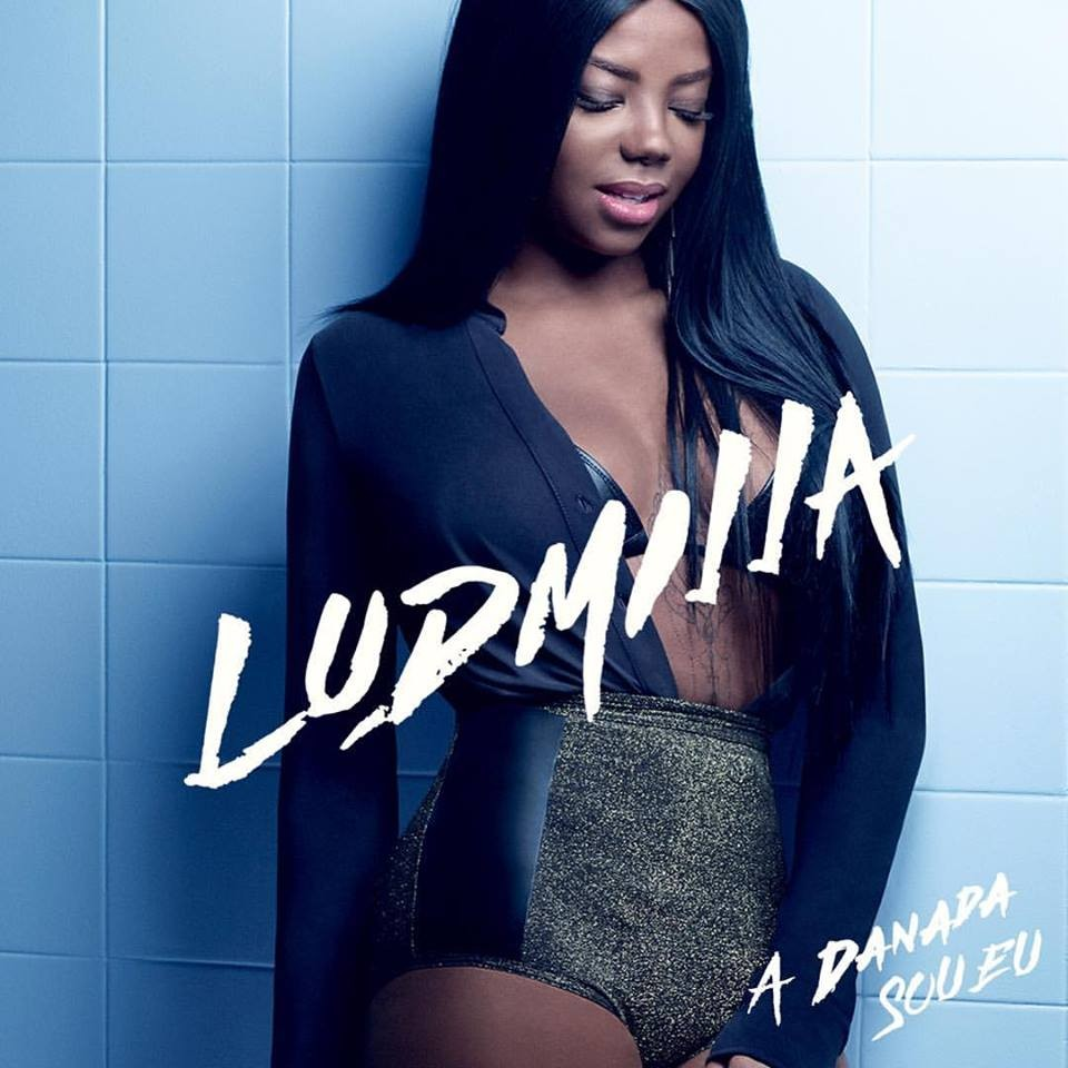 Capa do novo disco de Ludmilla,