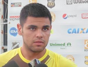 Lima - lateral-esquerdo do ABC (Foto: Carlos Cruz/Globoesporte.com)