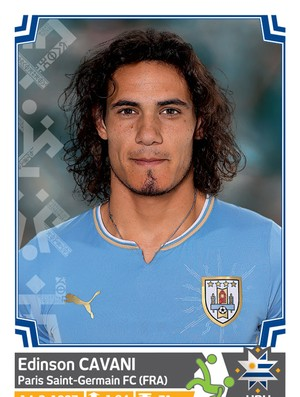 Álbum da Copa América - Cavani Uruguai