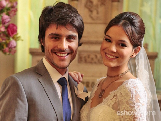 Leninha e Laerte (Foto: Pedro Curi/ TV Globo)