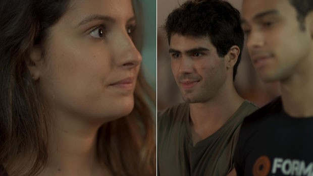 Nanda conhece Rômulo em Malhação nesta segunda (TV Globo)