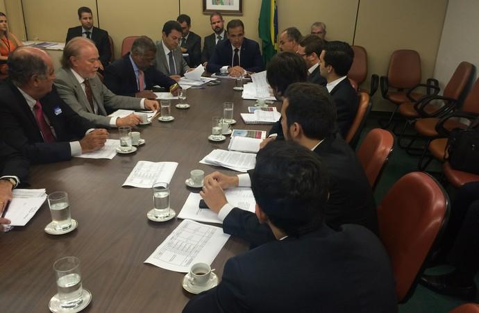 Reunião renegociação das dívidas dos clubes Câmara dos Deputados (Foto: Fabrício Marques)