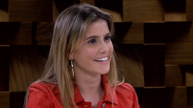 Deborah Secco no Marlia Gabriela Entrevista fala sobre a qumica em cena com Marcos Mion (Foto: Reproduo/GNT)