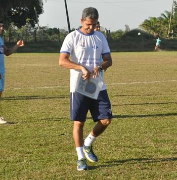 Álvaro Miguéis, técnico do Atlético-AC (Foto: Duaine Rodrigues)