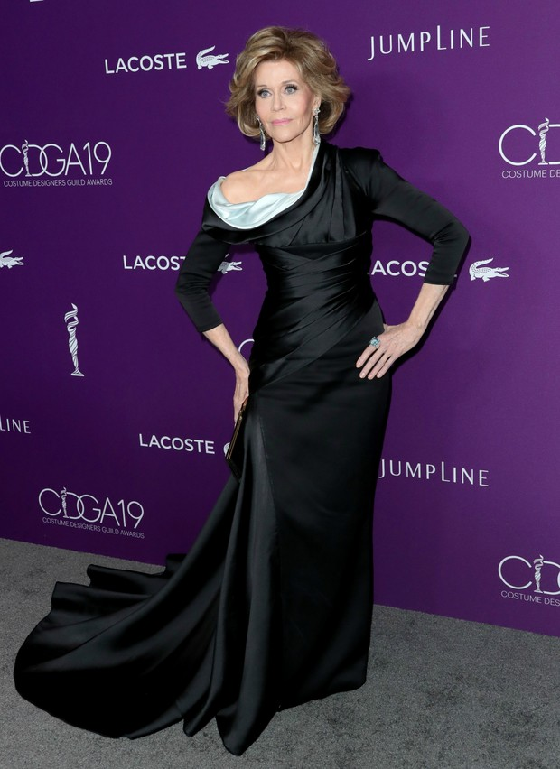 Jane Fonda no Costume Designers Guild Awards (Foto: Getty Images)
