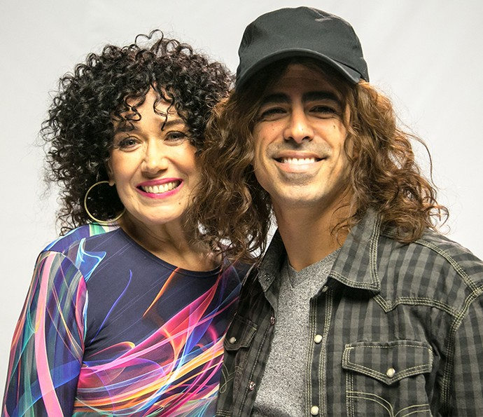 Lilia Cabral e Marcius Melhem (Foto: Globo/Paulo Belote)