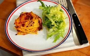 'A Pequena Cozinha em Paris' - cestinha de batata com queijo