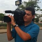 Ricardo Alves cinegrafista Inter TV Grande Minas (Foto: Divulgação/Inter TV)