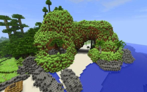 Explore a ilha de Far Cry 3 através do mundo de blocos de Minecraft