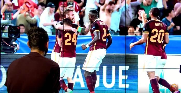 Florenzi gol Roma