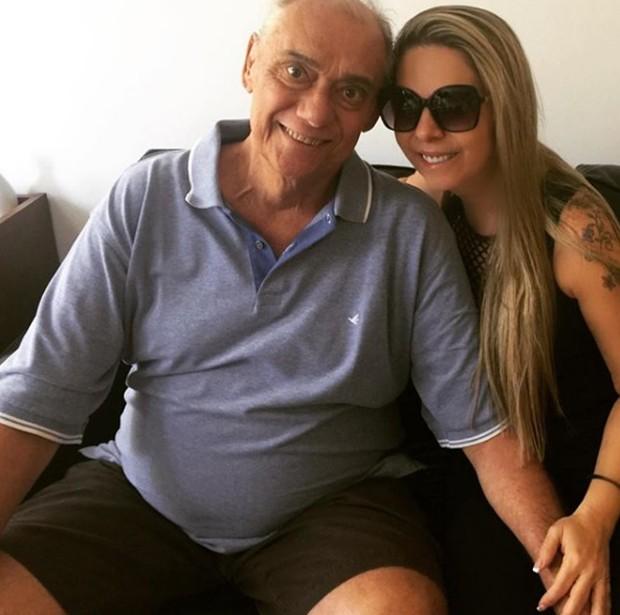 Marcelo Rezende e Luciana Lacerda (Foto: Reprodução/Instagram)