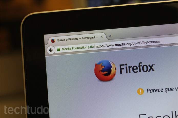 Firefox_Tela_01 (Foto: Melissa Cruz / TechTudo)