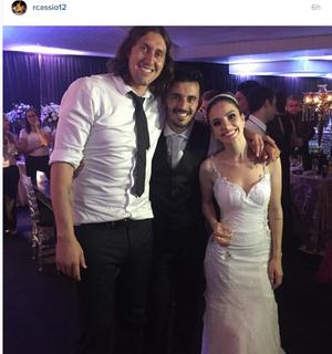 Cássio e Uendel, Corinthians (Foto: Reprodução de Instagram)
