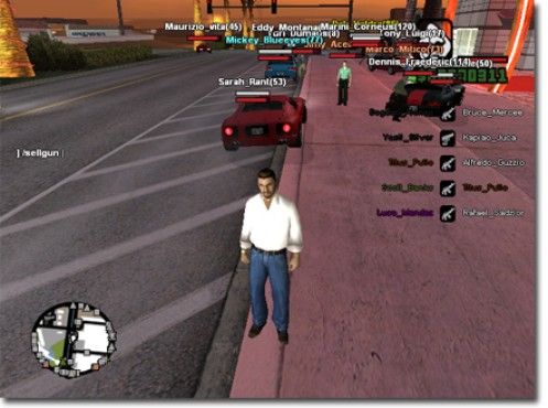 screenshot de GTA San Andreas: Multiplayer