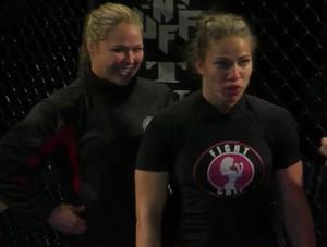 Ronda Rousey Marina Shafir MMA (Foto: Reprodução/Youtube)