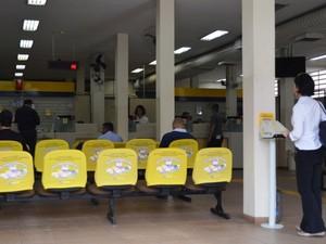 Atendimento nas agências dos Correios em Piracicaba estava normal na manhã desta quarta (Foto: Claudia Assencio/G1)