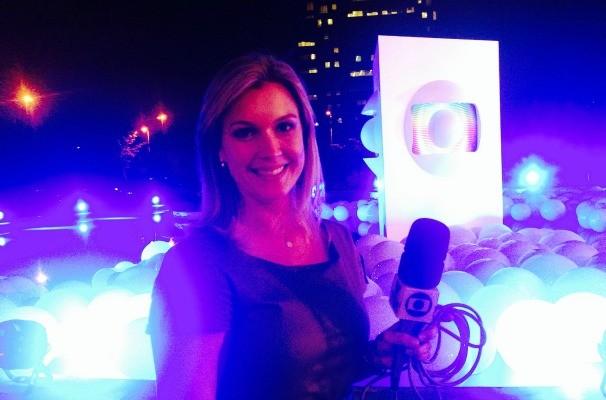 A repórtar Marcela Bordon, da TV TEM, contou sobre os detalhes do vem_aí direto de São Paulo (Foto: Arquivo Pessoal)