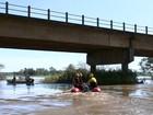 Menino de 11 anos desaparece ao cair de bote no Rio Itararé