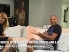Antônia Fontenelle entrevista Sheik e brinca: 'Ele tem muitas amiguinhas'
