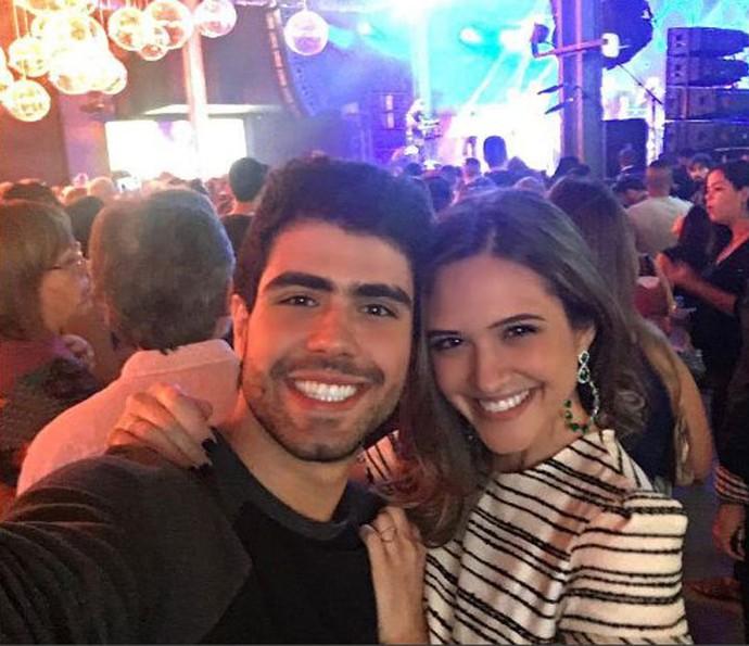 Juliano Laham conta como conheceu Juliana Paiva (Foto: Arquivo pessoal)