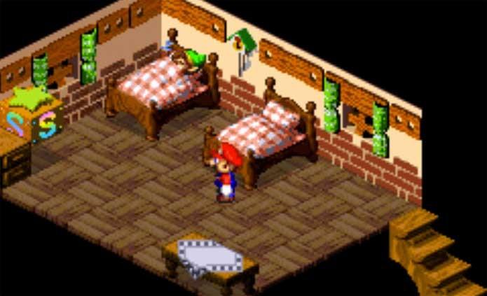 Super Mario RPG tem encontro com Link, de Zelda (Foto: Reprodução/Felipe Vinha)