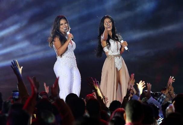 Simone & Simaria em São Paulo (Foto: Reprodução/Instagram)
