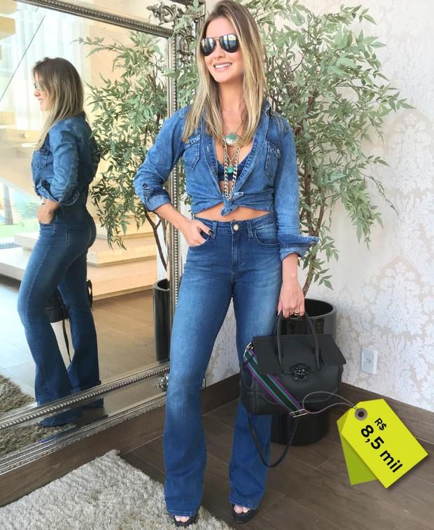 Andressa Suita usa bolsa de R$8,5 mil (Foto: Reprodução do Instagram)