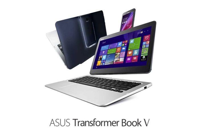 O híbrido da Asus chama a atenção por seu design que agrega diferentes aparelhos (Foto: Divulgação)