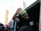 Wesley Safadão arrasta multidão em carnaval de Salvador