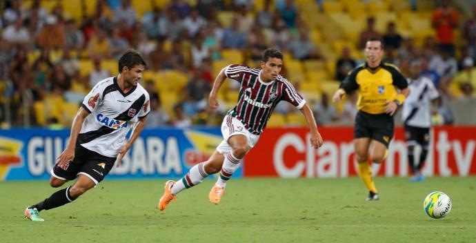 Pedro Ken e Jean, Fluminense x Vasco (Foto: Ivo Gonzalez/Agência O Globo)