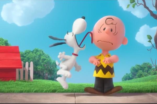 Charlie Brown e Snoopy em teaser de 'Peanuts' (Foto: Reprodução)