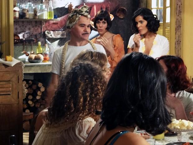 Pirangi diz que também tem cliente (Foto: Gabriela / TV Globo)