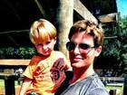 Jonatas Faro comemora o aniversário do filho, Guy, no Rio