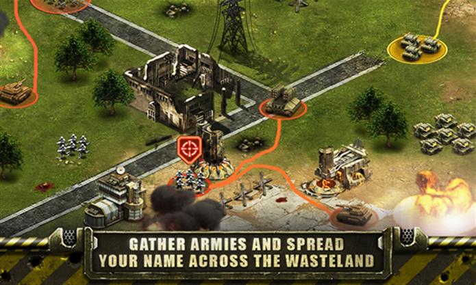 Hadron Wars: Comander é um título que mistura construção de cidades e tiros (Foto: Divulgação/Windows Phone Store)