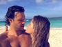 Yasmin Volpato posta foto romântica com Nando Rodrigues